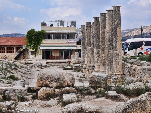 The Samaria Restaurant is located beside the Roman Forum. Photo by Ferrell Jenkins.