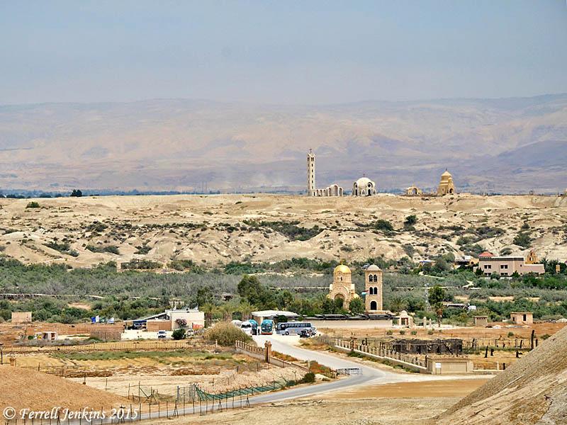f45b06e49b4cdd Baptism site on the Jordan River. View east to Bethany Beyond the Jordan.  Photo
