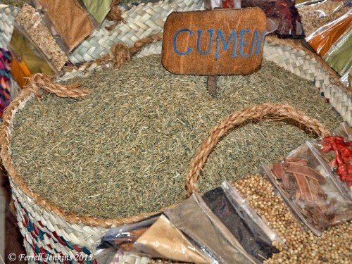 Cummin for sale at Aswan, Egypt. Photo by Ferrell Jenkins.