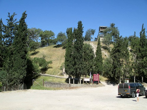 Tel Shimron. Photo: Dr. Avishai Teicher, Pikiwiki Iserael.