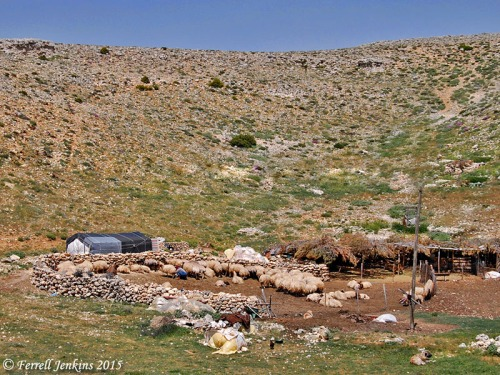 A sheepfold near Karaman, Turkey. Photo by Ferrell Jenkins.