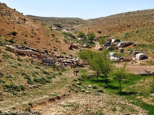 Shepherds and sheepfold near Karaman, Turkey. Photo by Ferrell Jenkins.