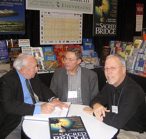 Anson Rainey, Ferrell Jenkins, and R. Steven Notley at SBL in 2006.
