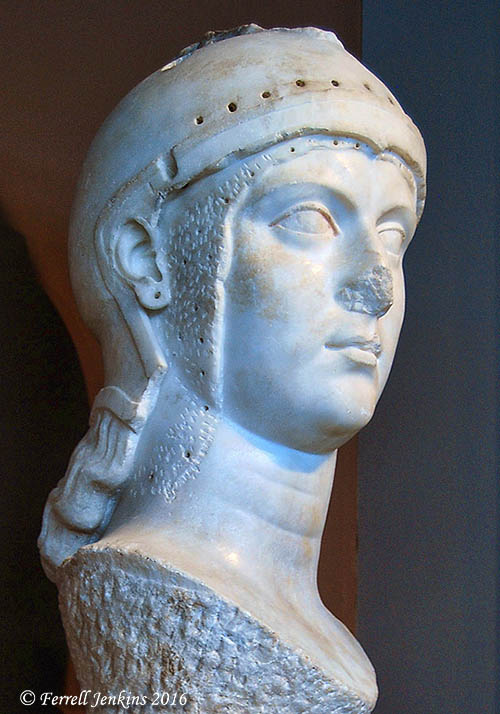Athena. Archaeology Museum of Thessaloniki. Photo by Ferrell Jenkins.