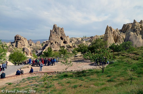 Fairy Chimneys in Pasabagi Valley, Cappadocia. Photo by Ferrell Jenkins.