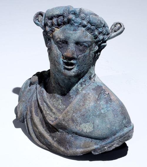A figurine of Dionysus, the god of wine. Photo: courtesy of the Israel Antiquities Authority.