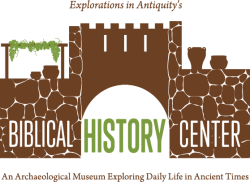 New Logo for the Biblical History Center, LaGrange, Georgia.