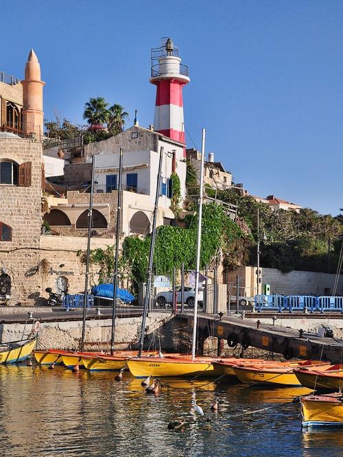 The leisure harbor at Joppa/Jaffa. Photo by Ferrell Jenkins.