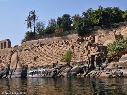 Elephantine Island at Aswan, Egypt. Photo by Ferrell Jenkins.