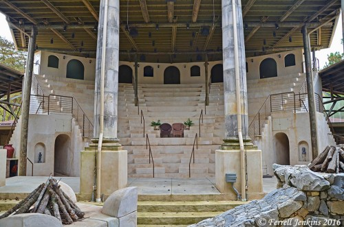 Roman theater at Biblical History Center.