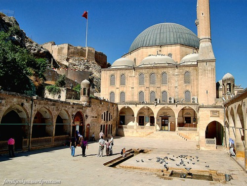 Citadel, mosque, cave. Photo by Ferrell Jenkins.