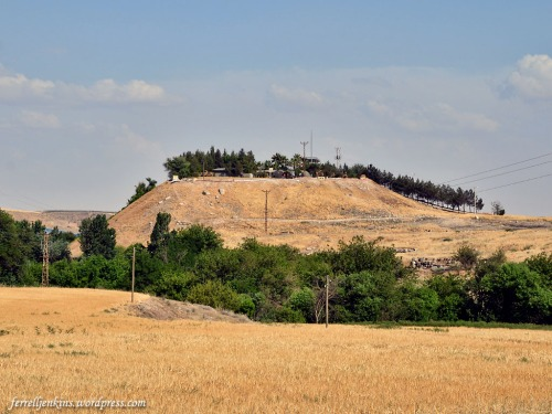 The mound of ancient Carchemish overlooking the Euphrates River. Photo by Ferrell Jenkins.The mound of ancient Carchemish overlooking the Euphrates River. Photo by Ferrell Jenkins.