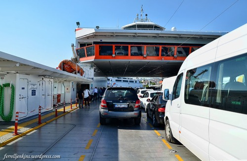 The return ferry from Nicea to Istanbul. Photo by Ferrell Jenkins.