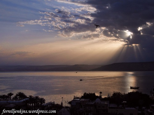 Sunrise on the Sea of Galilee in 2011. Photo by Ferrell Jenkins.