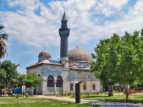 The Green Mosque in Iznik. Photo by Ferrell Jenkins.