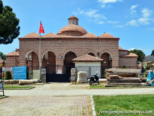 The museum of Iznik was closed for remodeling in 2014. Photo by Ferrell Jenkins.