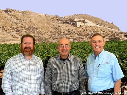 Luke Chandler, Yosef Garfinkel, and Ferrell Jenkins.