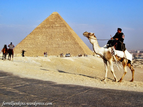 The Great Pyramid of Pharaoh Cheops (Khufu) at Giza. Photo by Ferrell Jenkins.