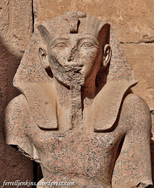 Thutmose III at the Temple of Amum at Karnak. Photo by Ferrell Jenkins.