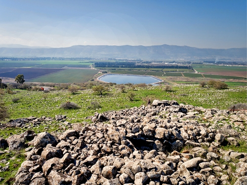 The 4,000 year old dolmen. Credit: Gonen Sharon, Tel Hai College.