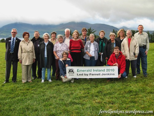Ferrell Jenkins Tour Group along the Ring of Kerry in 2010.