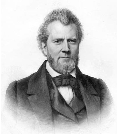 Portrait of Dr. James Turner Barclay from about 1848.