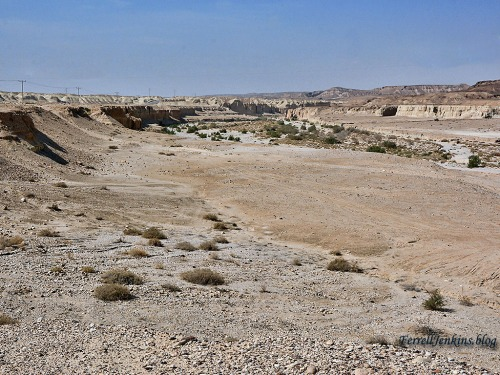 Arabah view to the southwest. Photo by Ferrell Jenkins.