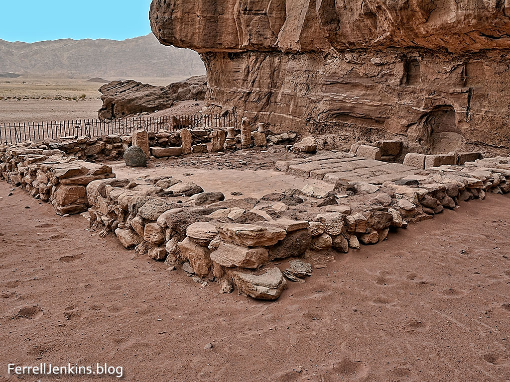 The Hator Temple, named after the Egyptian goddess, was used as a cult site during the Egyptian period. Photo by Ferrell Jenkins.