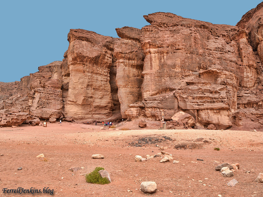 Solomon's Pillars, one of the most beautiful formations in the park. Photo by Ferrell Jenkins.