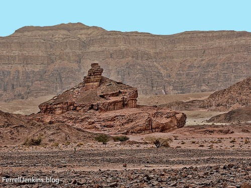 Spiral Hill in Timna Valley. Photo by Ferrell Jenkins.