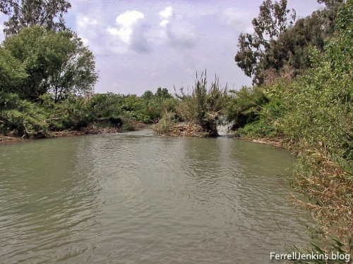 The Litani river a few miles north of Tyre, Lebanon. Photo by Ferrell Jenkins.
