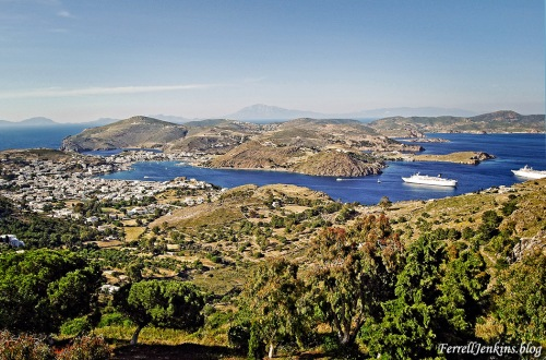 The island of Patmos. FerrellJenkins.blog.