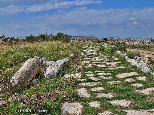Roman road north of Tarsus in Cilicia. ferrelljenkins.blog.
