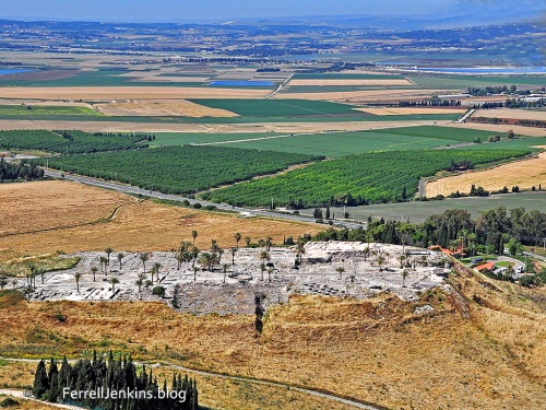 Megiddo and the Jezreel Valley. Photo: ferrelljenkins.blog.